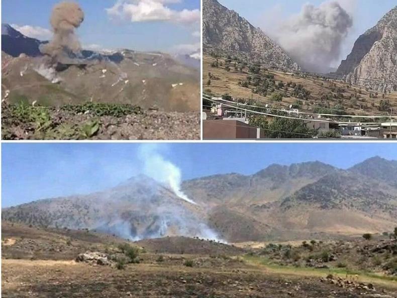 حمله پهپادی ایران به مقر تروریستها در کردستان عراق + فیلم