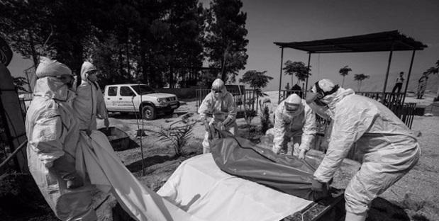ترسناک ترین تصویرها از جان باختگان کرونا در ایران/ فاجعه کرونا در کشور ادامه دارد!