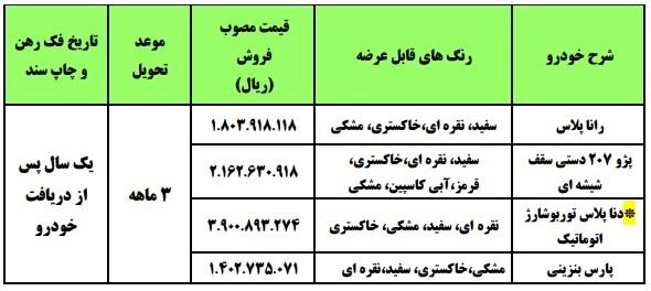 آغاز حراج نصف قیمت ایران خودرو از امروز! + جدول و شرایط