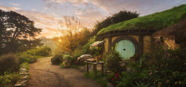 دهکده باورنکردنی ارباب حلقهها، رویایی در دنیای واقعی