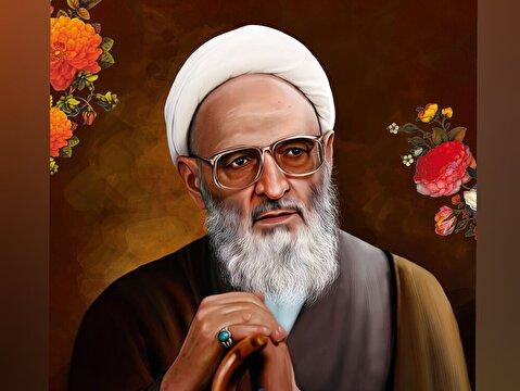 رهبر انقلاب با پیکر آیتالله حسنزاده آملی وداع کردند