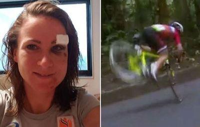 دوچرخهسوار هلندی آنمیک فان فلوتن هنگام رکاب زدن در مسابقه جاده زنان  کنترل خود را از دست داد و فرود ناشیانهای بر روی زمین داشت. فان فلوتن به شدت بر روی زمین پرتاب و در اثر این سقوط وحشتناک ستون فقرات او از سه نقطه دچار شکستگی شد. چند روز بعد وی به طرفداران خود که نگران حال وی شده بودند خبر داد که روند آسیبدیدگیاش رو به بهبودی است.