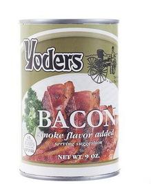 کنسرو بیکن یا گوشت خوک نمک سود شده