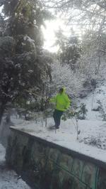 آنهایی که در شب سرد و یخبندانِ پایتخت نخوابیدند+تصاویر