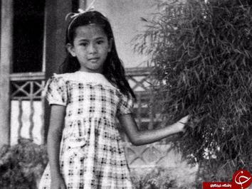 آنگ سان سوچی مشاور دولت میانمار در سن ۶ سالگی. او در سال ۱۹۹۱ میلادی جایزه صلح نوبل را از آن خود کرد.