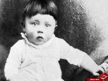 تصویری از دوران کودکی آدولف هیتلر دیکتاتور آلمانی.