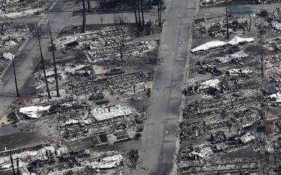 تخریب هشتاد هکتار از جنگلهای کالیفرنیا در آتشسوزی گسترده؛ افزایش کشتهشدگان آتشسوزی کالیفرنیا+عکس