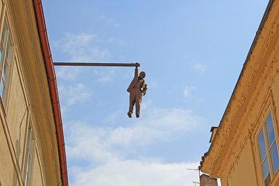 «مرد آویزان»، پراگ، جمهوری چک